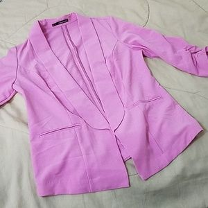 Maurices Pink Suit Jacket